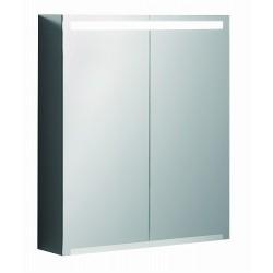 KERAMAG Option armoire vitrée 600mm, blanc