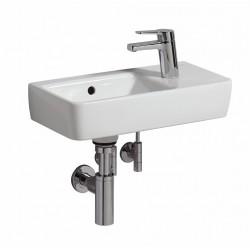 KERAMAG Lave-mains Comprimo 500mm/tablette + trou à droite