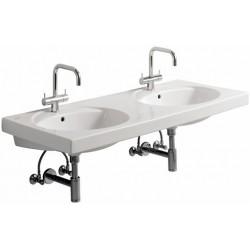 KERAMAG Double lavabo Preciosa 1300x550mm