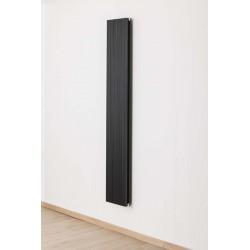 Radiateurs décoratifs Banio-Robyn Couleur Noir Hauteur 180 cm Largeur 28 cm