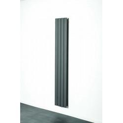 Radiateurs décoratifs Banio-Romy Couleur Gris Hauteur 180 cm Largeur 31,5 cm