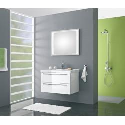 Meuble de salle de bain Pelipal Cubic de 90 cm blanc