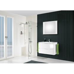 Meuble de salle de bain Pelipal Calypsos  de 90 cm blanc