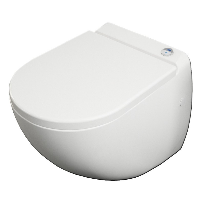 banio design cuvette suspendue avec broyeur blanc. Black Bedroom Furniture Sets. Home Design Ideas