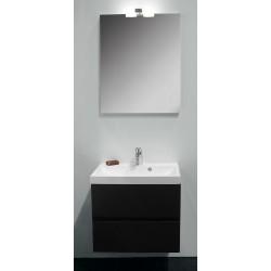 Banio Roxanna ensemble de meuble de salle de bain de 60 cm anthracite