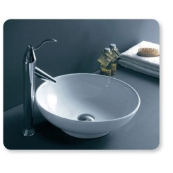 Banio Design Artemit Vasque à poser 40x40x14 cm - Blanc