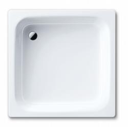 Banio Receveur de douche, acier émaillé 3,5 mm 90x90 cm - Blanc