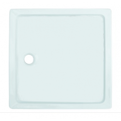 Banio Design Edes Receveur de douche en acrylique - 80x80x3 - Blanc