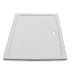 Banio Design Edes Receveur de douche en acrylique - 140x90x3 - Blanc