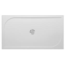Banio Design Argot Receveur de douche en polybeton gelcoat Blanc - 120x80x3cm
