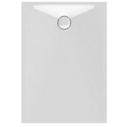 Banio Design Protos Receveur de douche en solid surface Blanc - 120x90x3,5