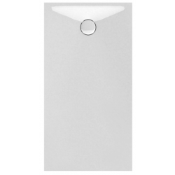Banio Design Protos Receveur de douche en Solid surface Blanc 140x80x3,5cm