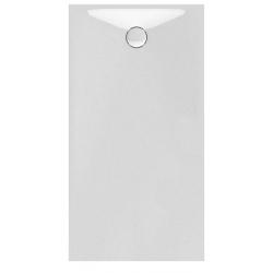 Banio Design Protos Receveur de douche en solid surface Blanc - 160x90x3,5cm