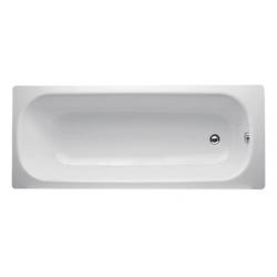 Banio-Easy Baignoire en acier Blanc - 160X70cm