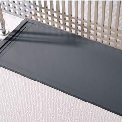receveur de douche min rale extra plat sur mesure banio. Black Bedroom Furniture Sets. Home Design Ideas