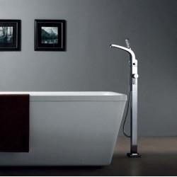 Banio-Design-Flo Mitigeur baignoire sur pieds Chromé