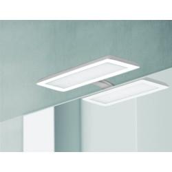 Eclairage LED Banio-Nikita pour Armoire/Miroir Gris/Blanc - 30cm 10W, 1870Lm