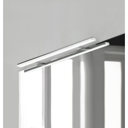 Eclairage LED pour armoire/miroir Banio-Pandora Chrome - Largeur 80,8 cm, 15W ,1700Lm
