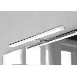 Eclairage LED Banio-Pandora pour armoire/miroir Chromé - Largeur 60,8 cm, 12W, 1300Lm
