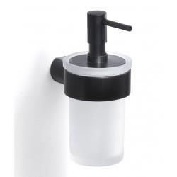 Gedy Pirenei Distributeur de savon 6,9x9,1x15,4 cm - Noir