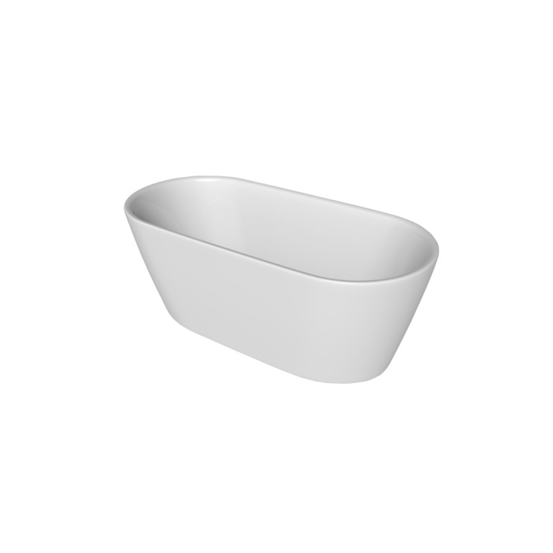 baignoire ilot central de 160 75 cm