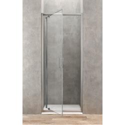 Ponsi Porte de douche pivotante de 80 cm