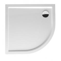 Riho Davos Receveur de douche en acrylique quart de rond Model 281 90x90x4,5 cm - Blanc