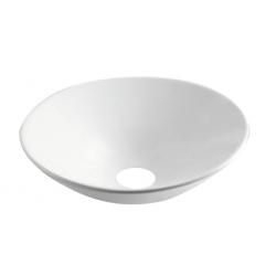 Design Juna Vasque à poser Rond 430 - Blanc