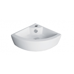 Banio Design Hero Lave-mains coin en porcelaine - Blanc