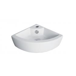 Banio Design Hero Lave-mains coin en porcelaine - Blanc