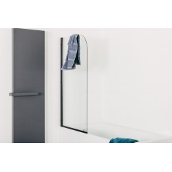Paroi de bain Banio-Uberto Noir - 1400x800x6mm