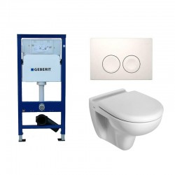 Geberit Duofix Delta Pack WC suspendu et abattant soft-close (frein de chute)