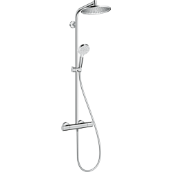 Hansgrohe Crometta S Set de douche 240 1jet avec thermostatique - Chromé