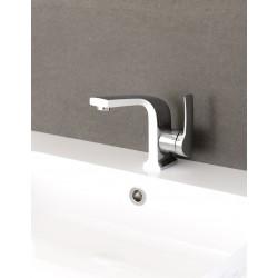 Banio Maddi Robinet de lavabo - Chrome/Blanc