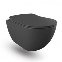 Banio wc suspendu - Anthracite mat