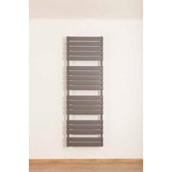 Banio radiateur sèche-serviettes électrique Xerxes 180x60cm 1101w gris