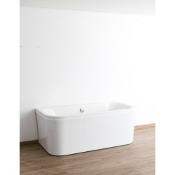 Banio baignoire murale Heatho 171x80,5x63cm blanc