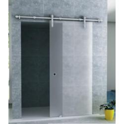 Banio porte de douche coulissante avec verre securit 8mm 102,5x205cm - verre mat