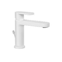 Ponsi mitigeur lavabo avec vidage Versilia - blanc mat
