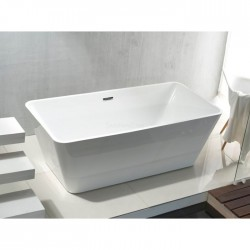 Banio baignoire îlot en acrylique Quadro 180x80cm