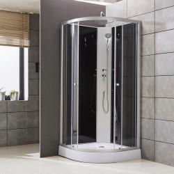 Cabine de douche complète Beauté de 90x90x235 cm