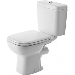 Duravit D-Code pack WC sur pied design complet sortie horizontale - blanc