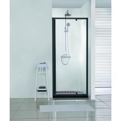 Porte de douche Banio-Urian Noir - 1120-1220x2000mm