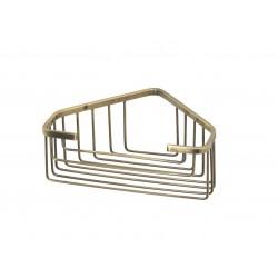 Gedy Porte-objets d'angle pour douche 20x15,1x8 cm - Bronze