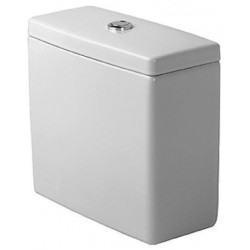 RESERVOIR DURAVIT STARCK 3 blanc alimentation laterale ou arriere - dual flush